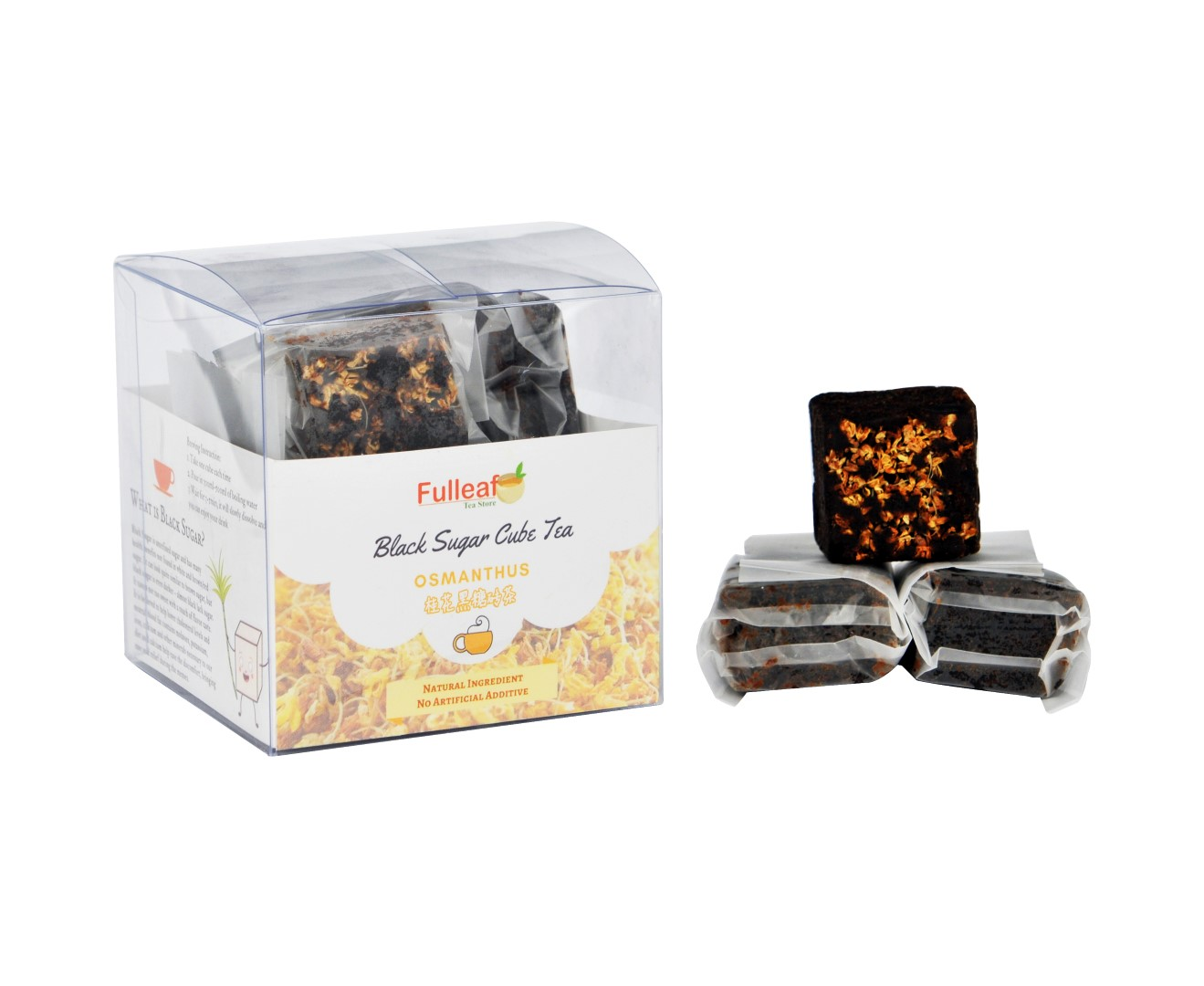 Osmanthus Black Sugar Cube Tea