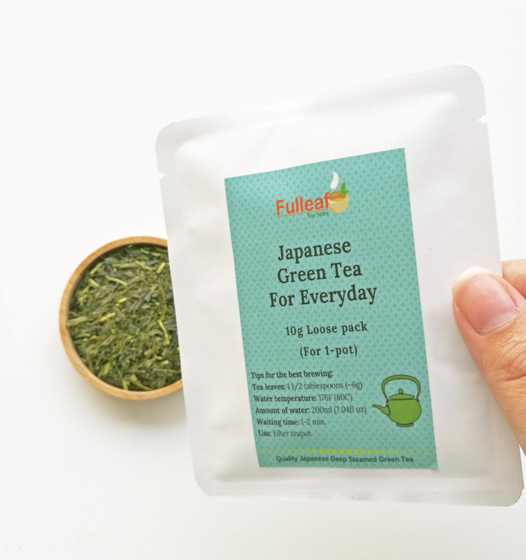 Japanese Green Tea for Everyday 10g Sample Pack